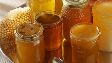 Assorted Jars of Honey