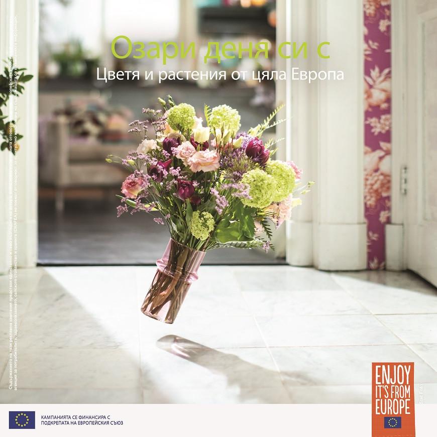 """Успех на европейската промоционална кампания """"Озари деня си"""" за възстановяване на зеления сектор"""