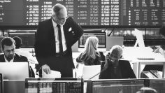 Business Team Finance Stock Exchange Busy Cocnept