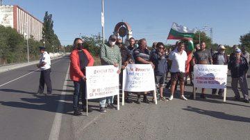 протест лозари Поморие