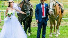 свадба с кон
