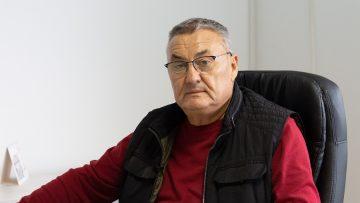 Димо Денчев, собственик на мандра, с. Белица