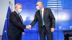 Януш и словенски министър